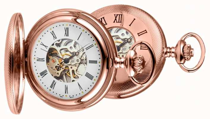 Woodford Rose Gold Pocket Watch 1092