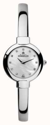 Michel Herbelin Womens Salambo Stainless Steel Bangle 17410/B59