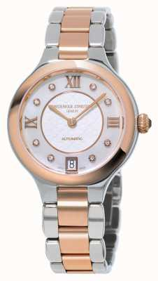 Frederique Constant EX DISPLAY Womens Delight Diamond Two Tone FC-306WHD3ER2B-EX-DISPLAY