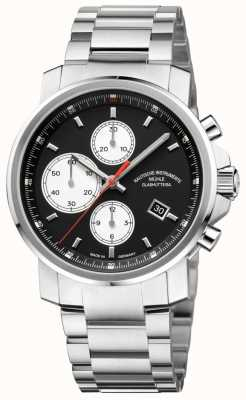 Muhle Glashutte 29er Chronograph Stainless Steel Band Black Dial M1-25-43-MB