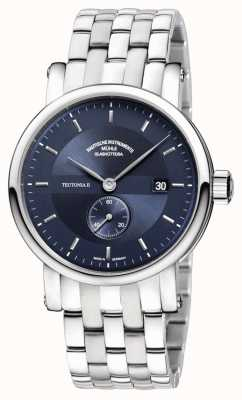 Muhle Glashutte Teutonia II Kleine Sekunde Stainless Steel Band Night Blue Dial M1-33-42-MB