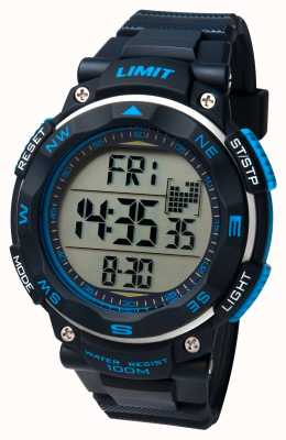 Limit Mens Sport Watch Black Strap 5487.01