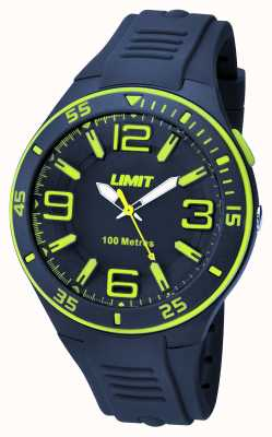Limit Mens Navy Strap Navy Dial 5569.24