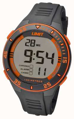 Limit Mens Grey Strap Digital Dial 5575.24