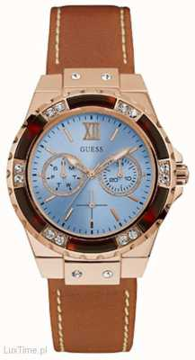 Guess Womans Limelight Sport Round Rose Gold Case W0775L7