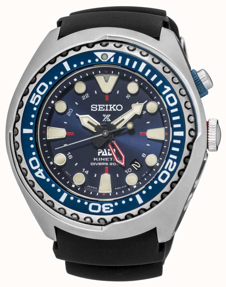 Seiko Prospex Padi Certified Kinetic Gmt Special Edition Sun065p1