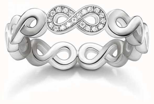 Thomas Sabo Sterling Silver Ring 54 D_TR0003-725-14-54