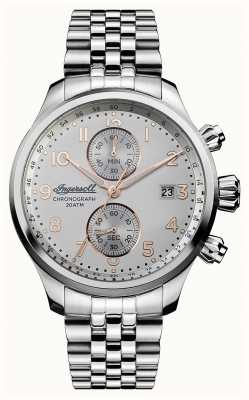 Ingersoll Mens Discovery The Delta Stainless Steel Bracelet I02501