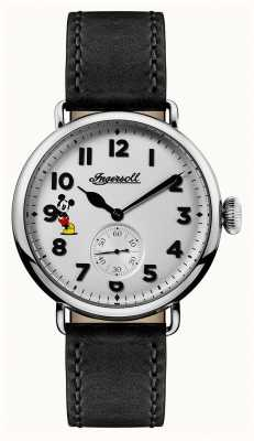 Ingersoll Mens Union The Trenton Disney Limited Edition Black Leather ID01202