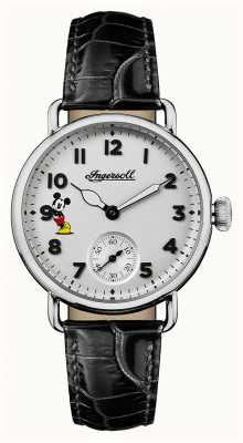 Ingersoll Women Union The Trenton Disney Limited Edition Black Leather ID00101