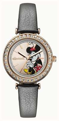 Ingersoll Womens Union The Disney Grey Leather Strap Gold Dial ID00302