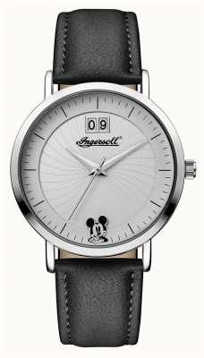 Ingersoll Womens Union The Disney Black Leather Strap ID00501