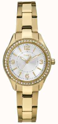 Timex Womans Gold Miami Mini TW2P80100