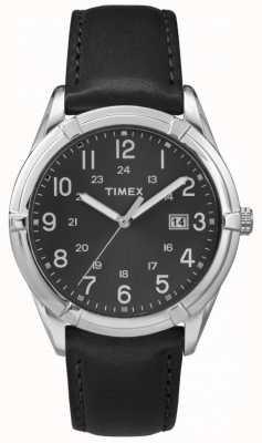 Timex Mens Easton Avenue Black Silver TW2P76700