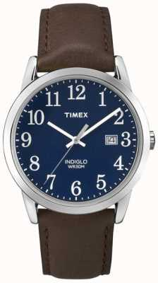 Timex Mens Blue Dial Easy Reader TW2P75900
