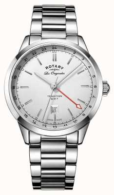 Rotary Tradition Men's GMT Swiss Watch GB90181/02