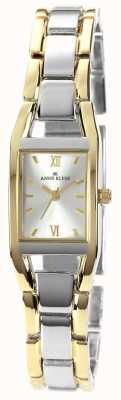 Anne Klein Womens Two Tone Bracelet Silver Dial 10/N6419SVTT