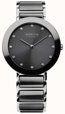 Bering Womans Stainless Steel Silver Ceramic 11435-783