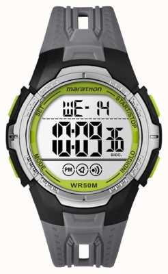 Timex Unisex Marathon Digital Black Full Size TW5M06700