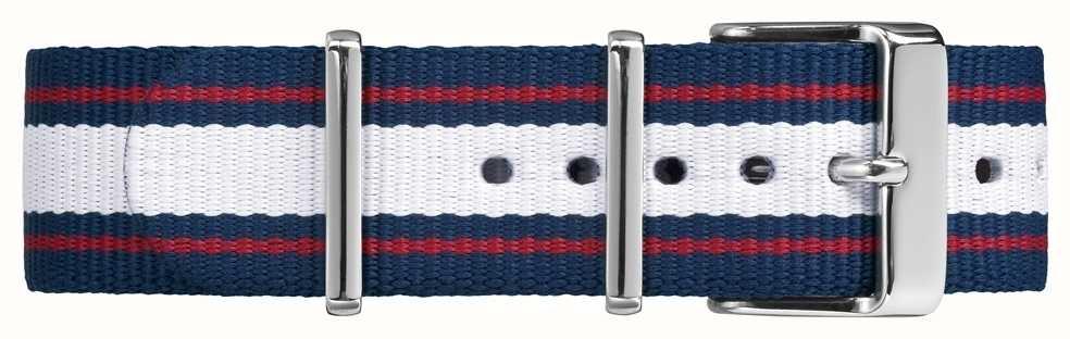 Timex Weekender Fairfield 20mm Red White Blue Strap TW7C06900