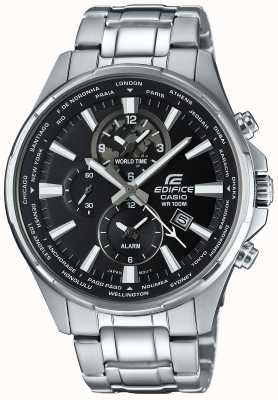 Casio Edifice Stainless Steel Chronograph, Black Face EFR-304D-1AVUEF