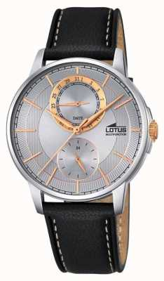 Lotus Lotus Mens Multifunctional, Leather Strap L18323/1