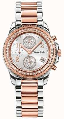 Thomas Sabo Ladies Glam Chrono | Stainless Steel/Rose Gold PVD | WA0241-272-201-33