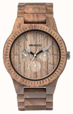 WeWood Mens Kappa Nut Wooden Brown Strap 70315700