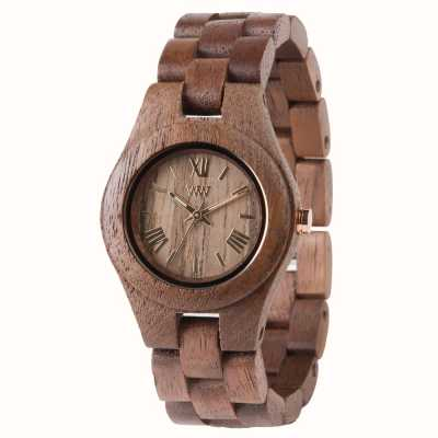WeWood Womens Criss Nut Wooden Strap 70210700