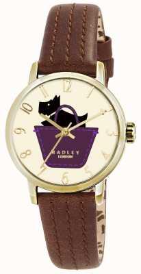 Radley Border Watch With Tan Genuine Leather Strap RY2290