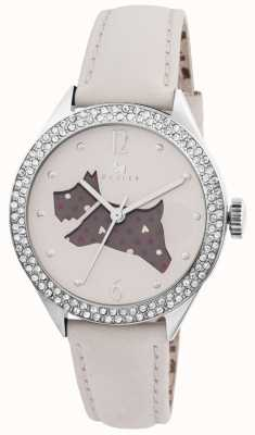 Radley The Great Outdoors Cream Genuine Leather Strap Watch RY2205