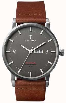 Triwa Mens Dusk Klinga Brown Leather KLST102-CL010212