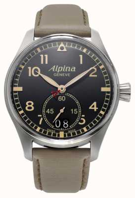 Alpina Mens Startimer Pilot Grey AL-280BGR4S6