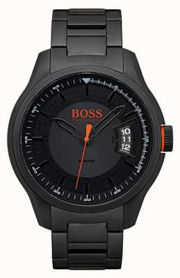 Hugo Boss Orange Hong Kong Black Stainless Steel Watch 1550005