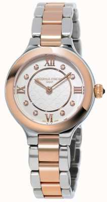Frederique Constant Womans Classics Delight Steel Rose Gold Plated FC-200WHD1ER32B