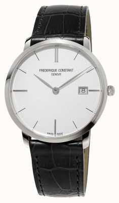 Frederique Constant Mens Slim Line Leather FC-220S5S6