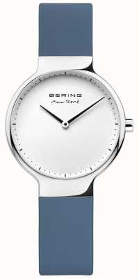 Bering Ladies Max René Interchangeable Blue Rubber Strap 15531-700