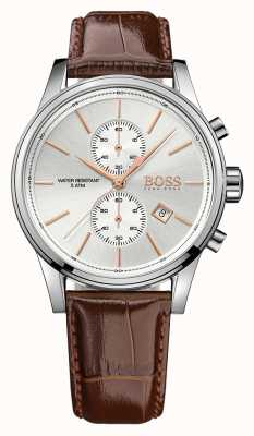Hugo Boss Gents Jet Brown Leather Chrono 1513280