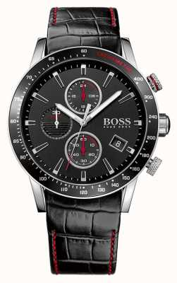 Hugo Boss Gents Rafale Black Chronograph Watch 1513390