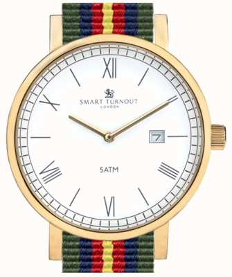 Smart Turnout County Watch - Gold With Fed Strap STK1/GD/56/W