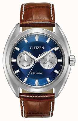 Citizen Mens Eco-Drive Blue Dial Paradex BU4010-05L
