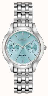 Citizen Womans Eco-Drive Silhouette Chandler Blue FD4010-57L