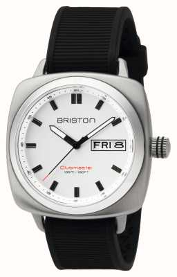 Briston Ex-Display Mens Clubmaster Sport Steel HMS White 16342.S.SP.2.RB-EX-DISPLAY