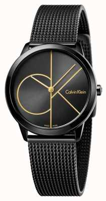 Calvin Klein Womans Minimal Black Mesh K3M224X1