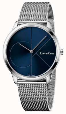 Calvin Klein Mens Minimal Stainless Steel Strap K3M2112N