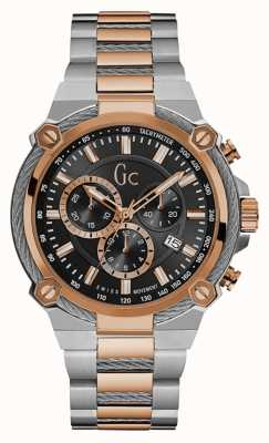Gc Mens Cableforce Chronograph Two Tone Steel Y24002G2