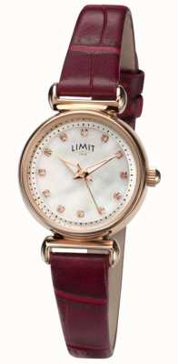 Limit Womens Mother of pearl Stone Set Dial Watch 60043.01