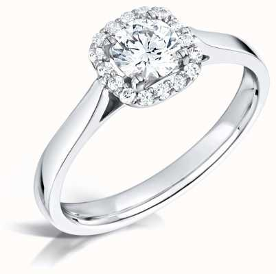 Certified Diamond 0.50ct D SI1 GIA Diamond Engagement Ring FCD28348