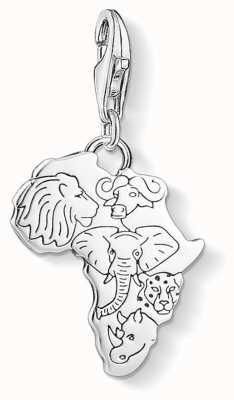 "Thomas Sabo Charm Pendant ""Africa"" 1417-637-21"