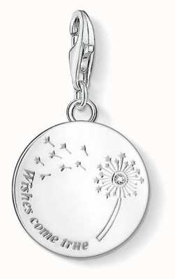 "Thomas Sabo Charm Pendant ""Dandelion Wishes Come True"" 1457-051-21"